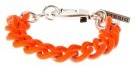 AGUMMY  - Bracciale - silver-coloured/orange
