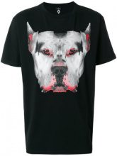 Marcelo Burlon County Of Milan - T-shirt Dogo - men - Cotone/Polyester - M, L, XL, S - Nero
