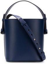 Nico Giani - bucket tote - women - Leather/Cotone - OS - Blu