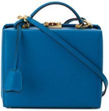 Mark Cross - Borsa a spalla 'Grace' - women - Leather - OS - Blu