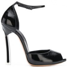 Casadei - ankle strap pumps - women - Calf Suede/Nappa Leather/Leather - 35, 35.5, 36, 36.5, 37, 37.5, 38, 38.5, 39, 39.5, 40, 40.5, 41 - Nero