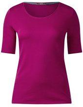 Cecil 311780 Lena, T-Shirt Donna, Rosa (Soft Blossom 11216), XL