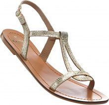 Sandalo in pelle (Oro) - bpc bonprix collection