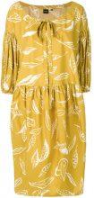 Aspesi - Vestito stampato - women - Cotone - 42 - Giallo & arancio