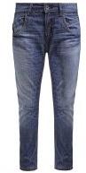 Jeans baggy - denim blue washed