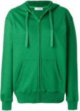 Valentino - Felpa con logo con cappuccio - women - Cotone/Polyamide/Polyester/Viscose - XS, S - Verde