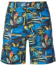 "Onia - Calder 7.5"" tropical swim trunks - men - Cotone/Nylon/Spandex/Elastane - 30, 34, 36 - Blu"