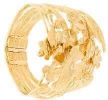 Aurelie Bidermann - Bracciale rigido 'Aurelie' - women - Gold Plated Brass - OS - Metallizzato