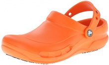 Crocs Batali Bistro Clog Zoccoli da lavoro, Unisex adulto, Arancione (Orange), 41/42