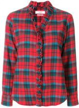 Isabel Marant Étoile - Camicia - women - Cotone/Wool - 40 - Rosso