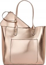 Borsa shopper metallizzata