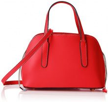 Chicca Borse 8672, Borsa a Mano Donna, Rosso (Red), 24x17x13 cm (W x H x L)