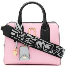 Marc Jacobs - Tote Little Big Shot - women - Calf Leather - One Size - Rosa & viola