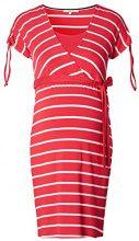 Noppies Dress nurs SS Lotta YD 70113, Vestito maternità Donna, (Coral C072), 48 (Taglia Produttore: XL)