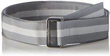 Bench D-Ring Webbing Belt, Cintura Uomo, Grigio (Dark Grey GY048), XXXL