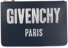 - Givenchy - Pochette con zip - women - Leather - Taglia Unica - Blu