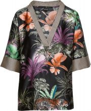 Blusa in stile kimono (Nero) - BODYFLIRT