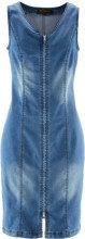 Abito di jeans con cerniera (Blu) - bpc selection