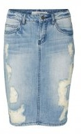 Gonna di jeans - light blue denim
