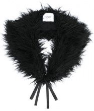 - Blugirl - faux - fur collar - women - Acrylic/Modacrylic/Polyester - Taglia Unica - Nero
