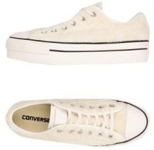 CONVERSE ALL STAR CT AS OX PLATFORM FAUX FUR - CALZATURE - Sneakers & Tennis shoes basse - su YOOX.com