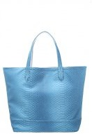Shopping bag - teal/silver