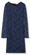 edc by Esprit 106CC1E026, Vestito Donna, Blu (Dark Blue), 34 (Taglia Produttore: X-Small)
