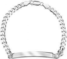Bracciale in argento 925 rodiato