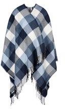Poncho in  lana fantasia etnica
