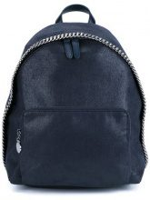 - Stella McCartney - Fallabella Backpack - women - Polyester/Brass - One Size - Blu