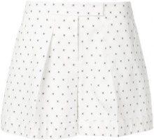 Jil Sander Navy - Pantaloni corti - women - Cotone/Polyester/Spandex/Elastane - 36, 38 - Bianco