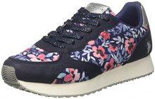 U.S. Polo Assn. Twila Flowers, Sneaker Donna, (Blue/Silver), 41 EU