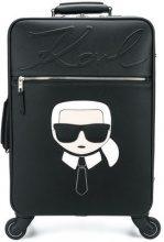 - Karl Lagerfeld - Karl trolley - women - fibra sintetica - Taglia Unica - di colore nero