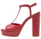 Sandali con i tacchi - rosso