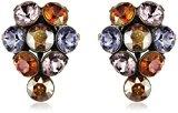 Donna-orecchini Magic Konplott Fire Ball ottone vetro - Multicolore 5450543301631
