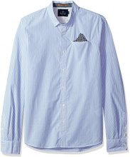 Scotch & Soda Mini-Patterned Shirt | Long Fit, Camicia Formale Uomo, Multicolore (Combo B 0218), Medium