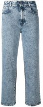 - Stella McCartney - Jeans crop a vita alta - women - Cotone/Spandex/Elastane - 25, 26, 27, 28, 29, 30 - Blu
