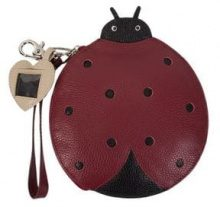 - Sarah Chofakian - Ladybug clutch - women - fibra sintetica - Taglia Unica - di colore rosso
