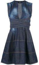 - Dsquared2 - Vestito di denim - women - fibra sintetica/cotone - 44 - di colore blu