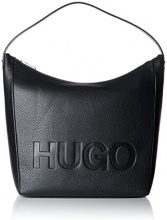 HUGO Mayfair Shoulder Bag - Borse a spalla Donna, Nero (Black), 12x37.5x31 cm (B x H T)