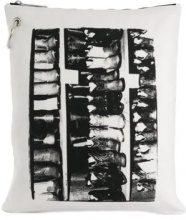 - Calvin Klein 205W39nyc - Clutch x Andy Warhol Foundation - women - Cotone - Taglia Unica - Bianco