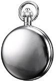KS KSP007-Orologio da tasca uomo, Lega, Scheletro,Meccanico Manuale Analogico, + Collana, Colore: Argento
