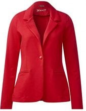 Street One 210603 Tine, Giacca Donna, Rosso (Scarlet Red 11157), 44