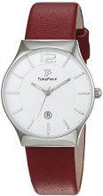 Time Piece - Orologio da donna, classico, analogico, al quarzo, in pelle, TPLS-32417-41L