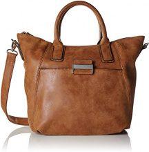 Gerry Weber Be Different Handbag Mhz - Borsette da polso Donna, Braun (Cognac), 11x26x37 cm (B x H T)