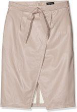 New Look Wrap Tie Waist, Gonna Donna, Beige (Nude), 42