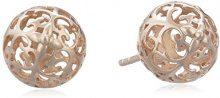 Engelsrufer Classic orecchini per donne 925 Sterling argento oro rosa placcato 10,4 mm