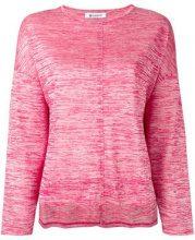 - Dondup - flared sweatshirt - women - Polyester/Nylon/viscose - XS , S - Rosa & viola