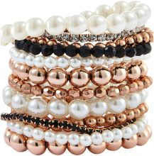 Bracciali Perla (set 12 pezzi)