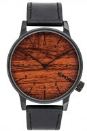 THE WINSTON - Orologio - black wood